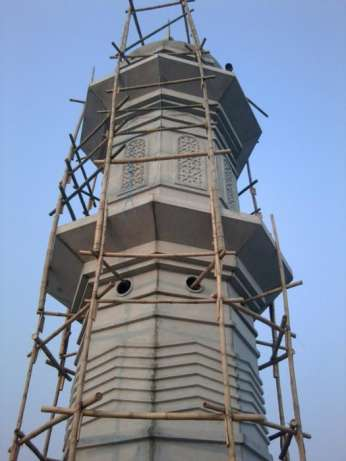 Proyek Pembangunan Menara Masjid di Pondok Indah