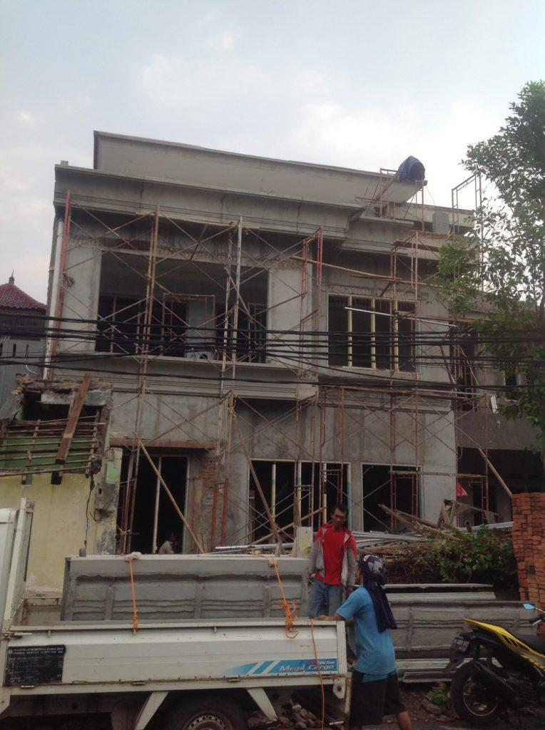 Proyek Pembangunan Rumah Pribadi di Grogol, Jakarta