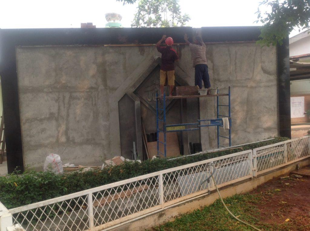 Proyek Pembangunan Masjid di Jakasampurna, Bekasi